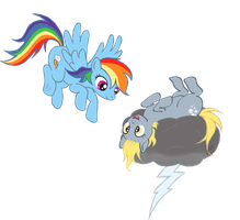 Rainbow Derp by SEVENFAWM