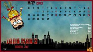 May: Iron Man 3 by GTR26