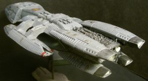 BSG-75 Galactica-aft by Roguewing