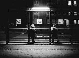 Anonymous night - Bernauer Strasse by ChristophTrabert