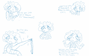 Stupid doodle: the clown has spoken by PastelPastryClown