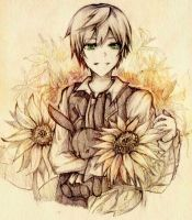 Pandora Hearts - Oz Sunflowers by Xai0