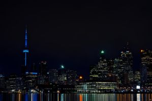 Toronto from the Docks by Pattysnaps