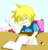 KH : Face the exam by Ayuda96