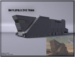 Battlefield 2142 Train by Cold-Levian