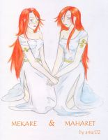Mekare and Maharet by Shukria