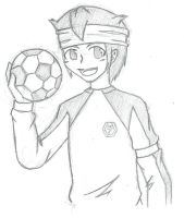 Endou Mamoru by shadowpheonix64