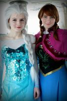 Frozen- Sisters by Whimsical-Angel