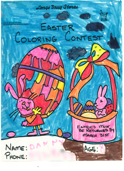 1994 Easter drawing contest by ixfd64