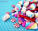 Colorful and funny candies 13 by JaqueOliveira