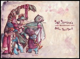 Sgt. Simion's Spectacular Baker Street Band by Kettlehead