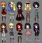 Gothic Adopts (REPOST) by Musicallychalanged