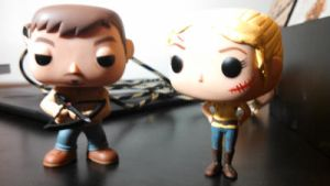 Customized Beth Greene Funko Pop Vinyl by Ratgirlstudios