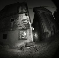 with fisheye aroundGroznjan VI by Kaarmen