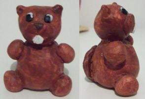 clay beaver by NeithC