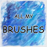 All My Brushes by rustydoubleohseven