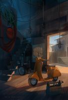 sunny auto repair by sheer-madness