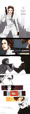 star wars - black widow AU by shorelle