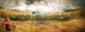 to make a rainbow.. by skeelar