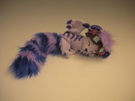 KingKougra1 Sleepy Plush by WhittyKitty