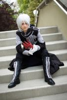 Allen Walker: Black, Silver and Red by AnyaPanda