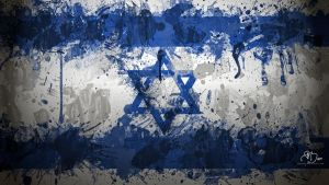 Israeli Flag Wallpaper by GaryckArntzen
