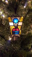 Claptrap Ornament by DarkeVitrum