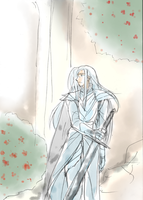 Celeborn in Eregion by h-muroto