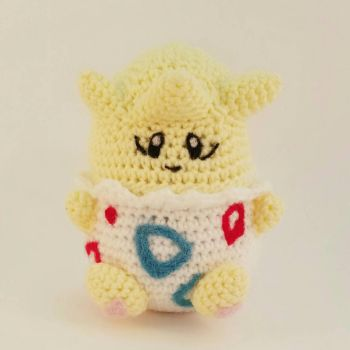 Crochet Togepi by bekichat