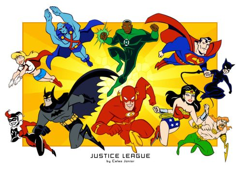 how to draw cute justice league