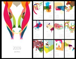 Year of the Ox Calendar by canonto
