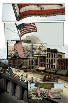 'Marshal Graves' - unlettered first page by S-Forester