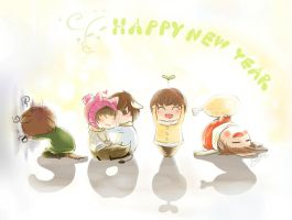 Happy New year 2012 by KnotBerry