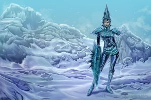 Ice warrior by EmiliaPaw5