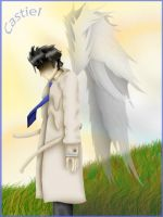 Supernatural- Castiel by StellasStar