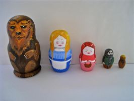 Matryoshka Dolls-Fairy Tale by Daaakota