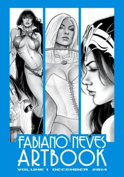 Artbook Cover by FabianoNeves