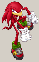 2005 Knuckles by NAN0jam