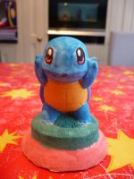 SQUIRTLE STATUE by awesomeninja1997