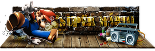 Sign Super Mario by tutom