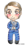Another chibi Hannibal Lecter by frozen-cherries