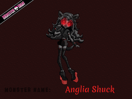 Monster High - Anglia Shuck by E-raserhead