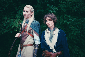 Lego and Bilbo COSPLAY by Jiosan