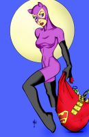 Catwoman by Bill Maus by Mythical-Mommy