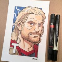 T is for Thor by D-MAC