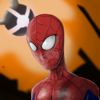 Spidey by silas-blackwing