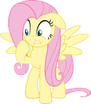 Panicking Fluttershy by Chisella1412