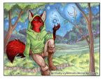 Foxlore Commission by lady-cybercat