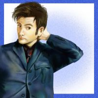 David Tennant by HylianGuardians
