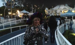 Frollo Hat on the Small World ride by ChristineFrollophile